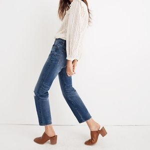 Sold ⛔️ Madewell   Classic Straight Jeans